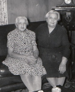 My paternal great-grandmothers later in life.