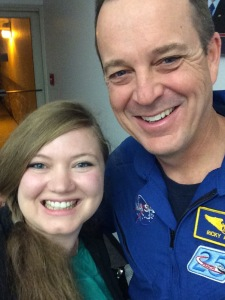 Selfie with Astronaut Ricky Arnold